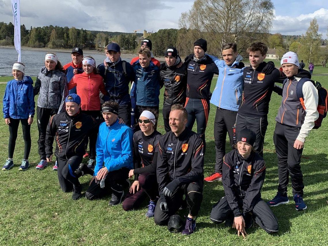 Ren-Eng har de siste årene vært eneste klubb som har greid å moblisere til Hamarstafetten og stilte med fem lag i årets utgave. (Foto fra Ragn-Sells Hamarstafettens facebookside)