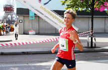 Nina Wavik Ytterstad satte norsk rekord, men måtte hun vinke farvel til den europeiske klasserekorden på maraton? (Arkivfoto: Runar Gilberg)