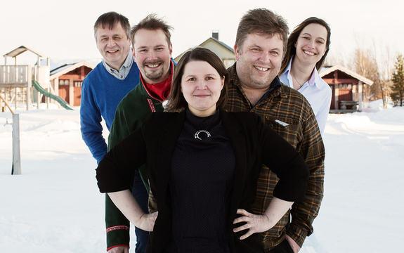 Ansatte Sápmi næringsahge, rådgivere for næringslivet