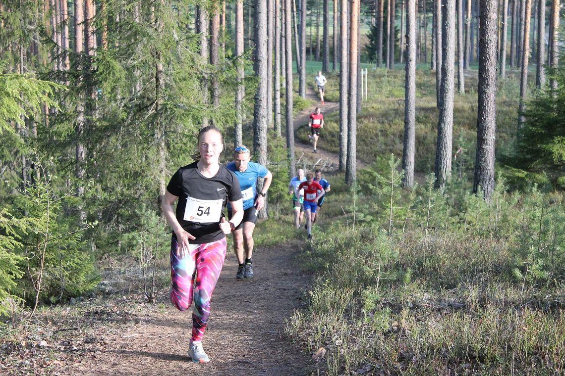Eira Berhns Rapp var raskeste jente på Skansesletta som på Liermoen der dette bildet ble tatt tidligere i vår. (Foto: Per Inge Vaaje)