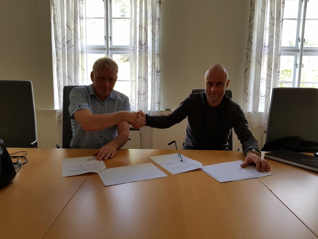 Kontraktsmøte med Norsk Saneringsservice