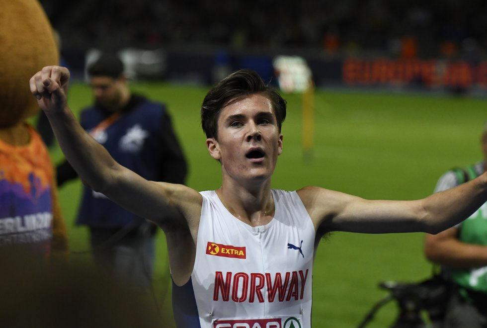 Jakob Ingebrigtsen er virkelig i ferd med å etablere seg som en av verdens beste 1500 m-løpere. (Arkivfoto: Bjørn Johannessen)