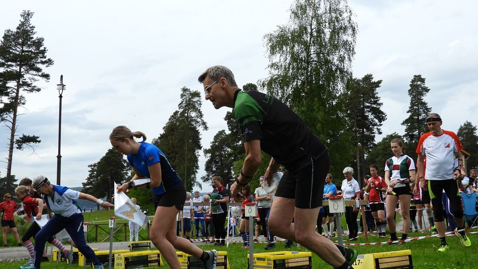 Sigurd Dæhli klart til start