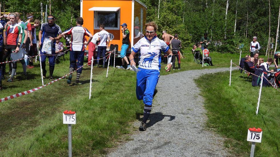 Anne Marit Bordal inn til seier i D50