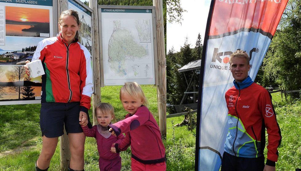 Sofie Johansson vant D21 her sammen med sine to håpfulle N-åpen l¢pere og Anders Haga vant H21