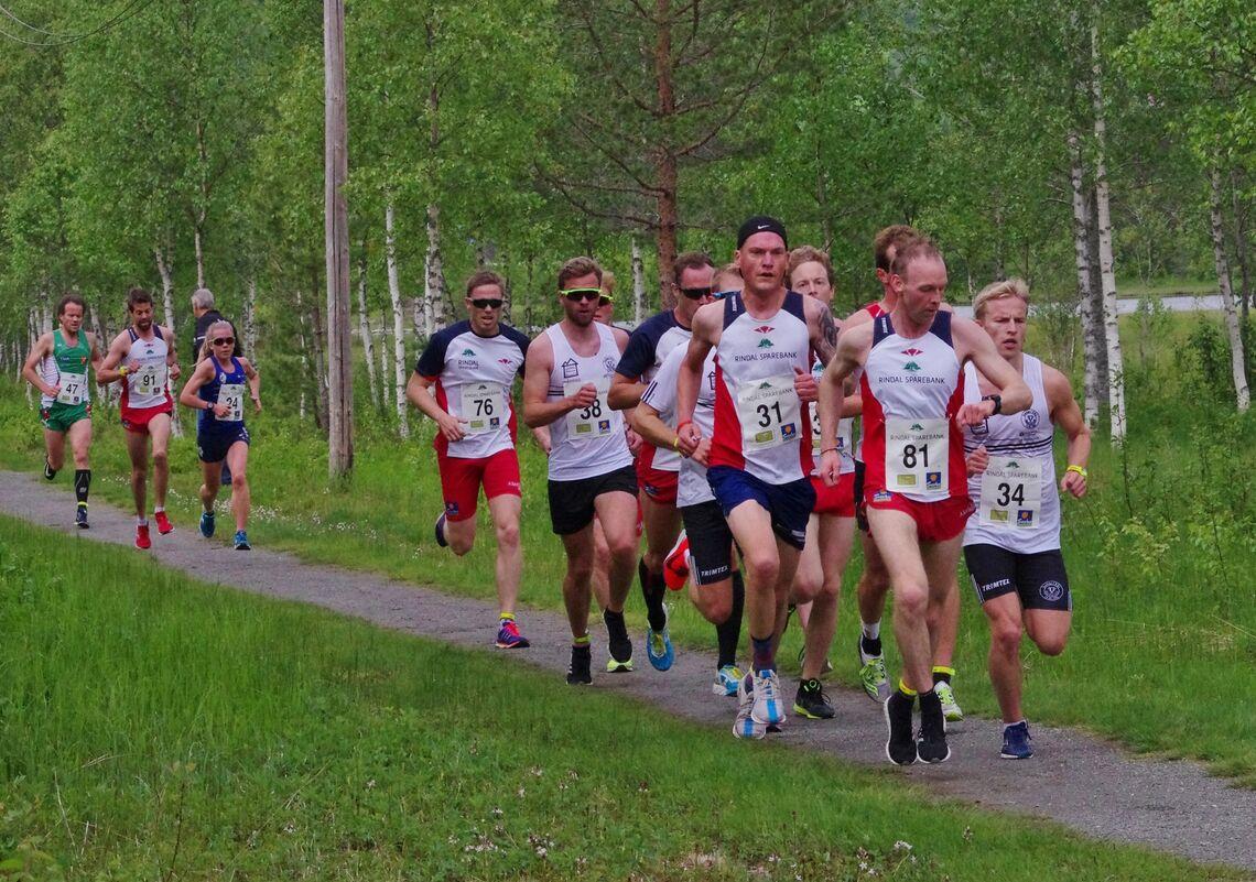 Trollheimsløpet går som planlagt 13. juni i år. Her fra 2019-utgaven. (Foto: Gunnar Bureid)