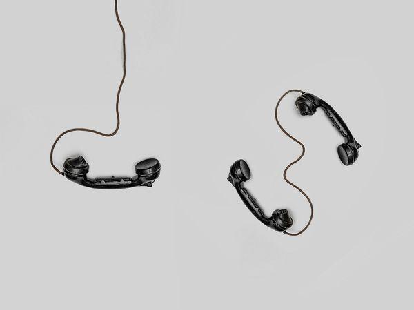 sorte telefoner