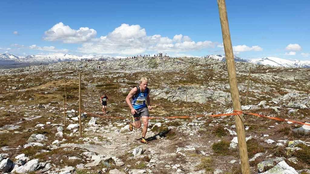 Vinner og dagens raskeste Joel Dyrhovden. Foto: Arrangør.