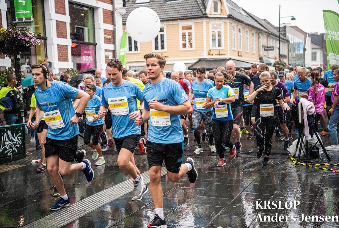 Litt regn hindret ikke at Sommerløpet ble en flott løpsfest. (Alle foto: Anders Jensen / Sommerløpet)