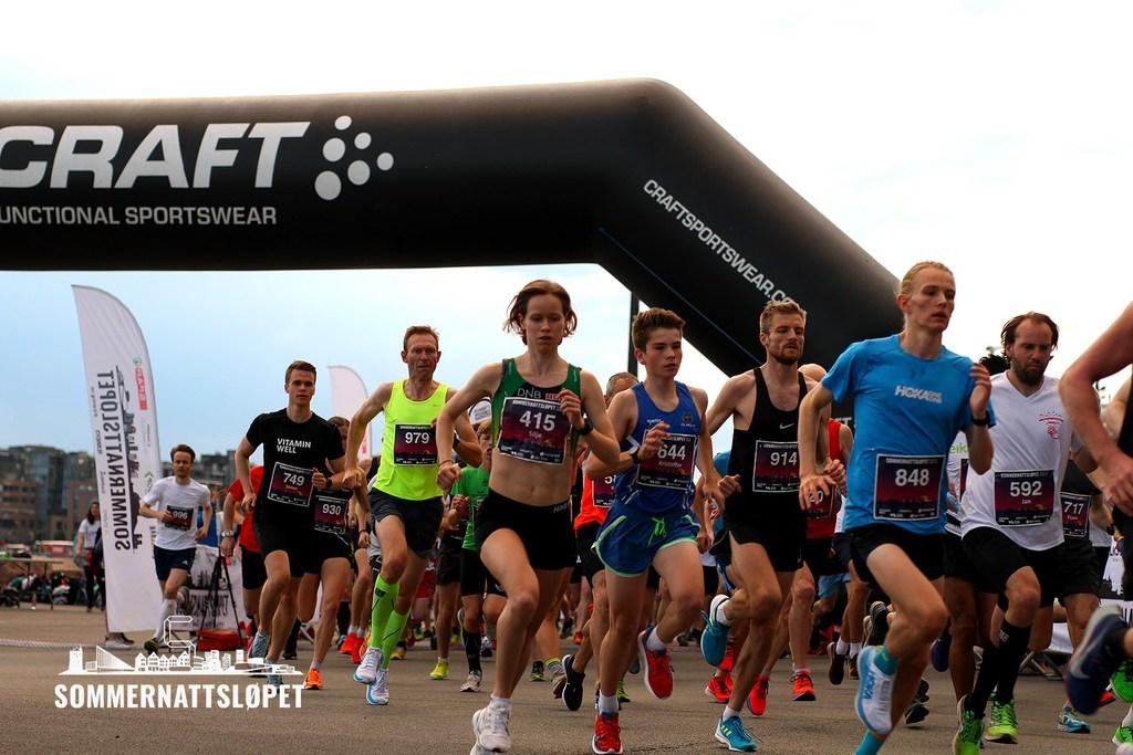 Vinner Silje Fjørtoft (415) og Stian Dahl Sommerseth (848). Foto: Eivind Bye, Runner's World.