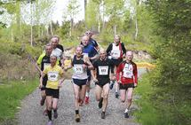 Sjøl om tempoet går ned med årene, kan idrettsgleden være den samme. (Foto: Kjell Vigestad)