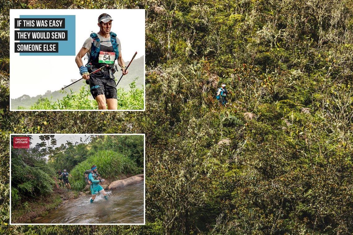 Frode Lein har erfaring fra mange ekstreme etappeløp, her er han i jungelen. (Arrangørfoto)