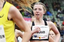 Mari Roligheten Ruud tror mye av hennes framgang er takket være det gode treningsmiljøet i IL Runar. (Foto: Bjørn Johannessen)