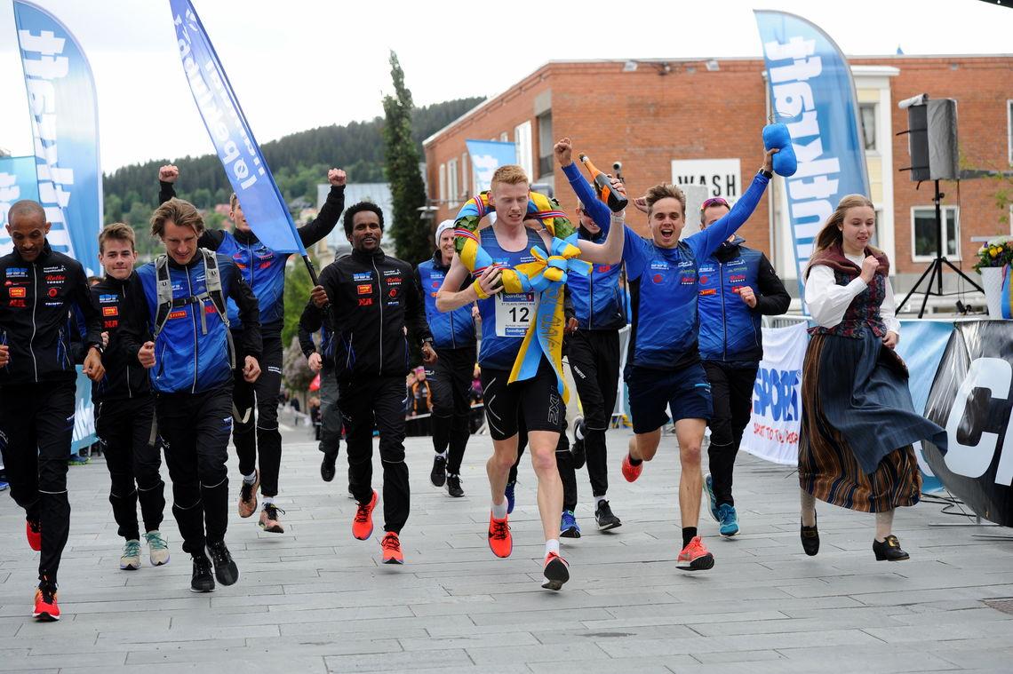 Ny seier sammenlagt for Namdal løpeklubb. Foto: Arne Brunes