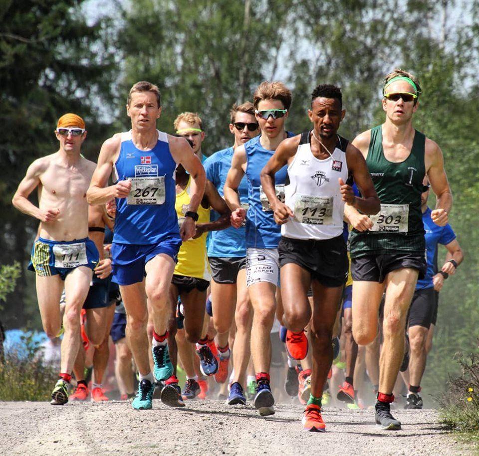 5e954669 Marthe og Weldu vant et sommerlig Krokskogen Halvmaraton - KONDIS ...