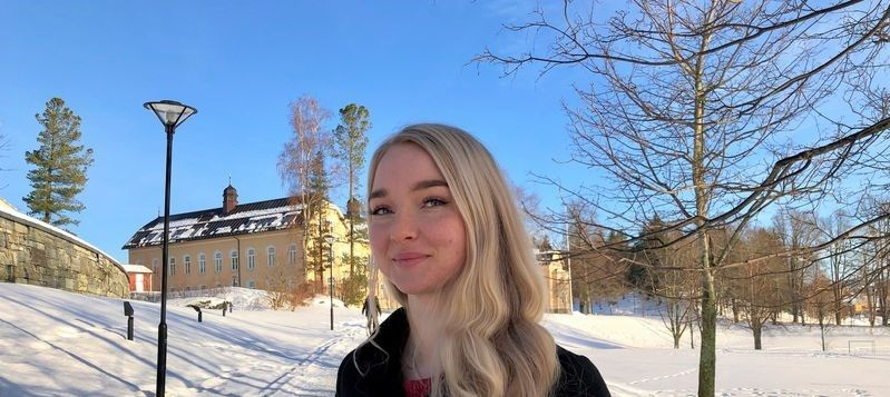 Bilde av Anja Syrstad som jobbet med Ung i jobb sommeren 2014.