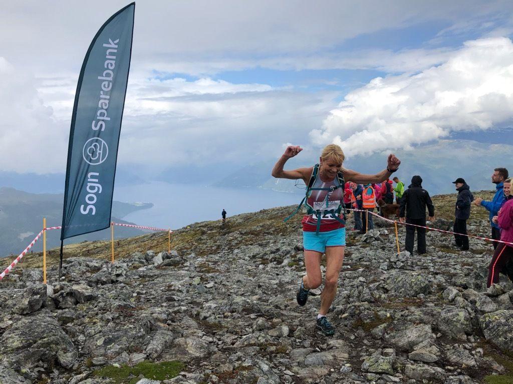 May Britt Buer, Team La Sportiva raskeste dame. Foto: Arrangør