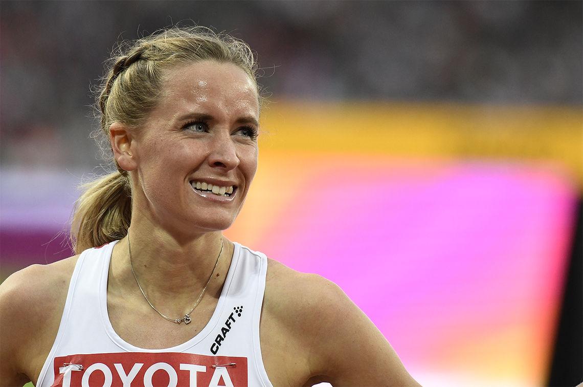 Hedda Hynne begynner å komme i form, men vil hun klare VM-kravet før fristen går ut? (Arkivfoto: Bjørn Johannessen)