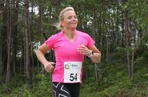Mona Grindberg vant Meldal 6-timers med et resultat rett bak persen (7. beste norske kvinne på distansen). Foto: Arrangøren