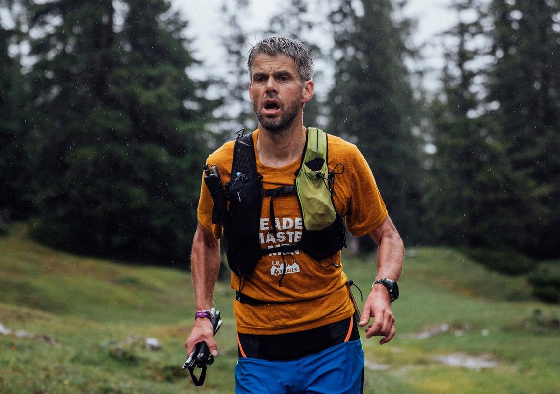 Robert Sørli gjennomførte fire etapper på til sammen 95 km og 5659 høydemeter. (Foto: arrangøren / Stephan Wieser)