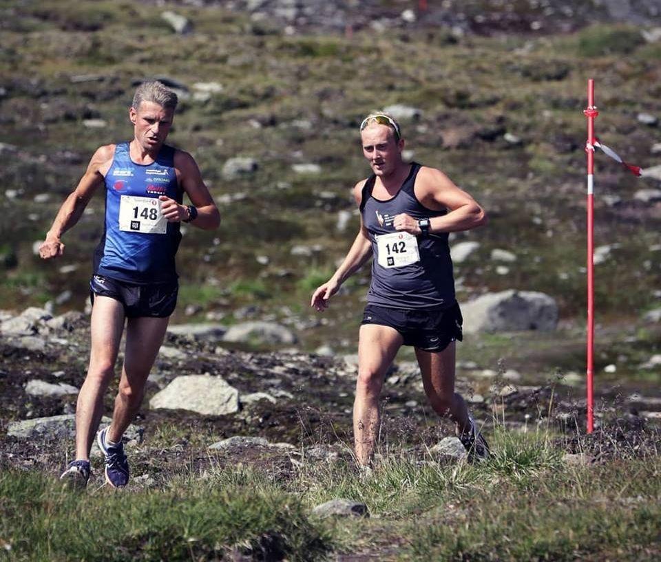 Hardhausene Ole Leirvik og Tor Håkon Skogstad som var 2 og 3 sammenlagt i fjor, og med Ole litt foran Tor Håkon alle tre dagene. (Arrangørfoto)