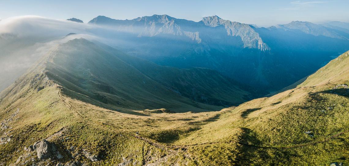 Arrangørfoto 2018 fra det mektige landskapet der Südtirol Ultra Skyrace arrangeres (Foto: SUSR/wisthaler-Harald Wisth)
