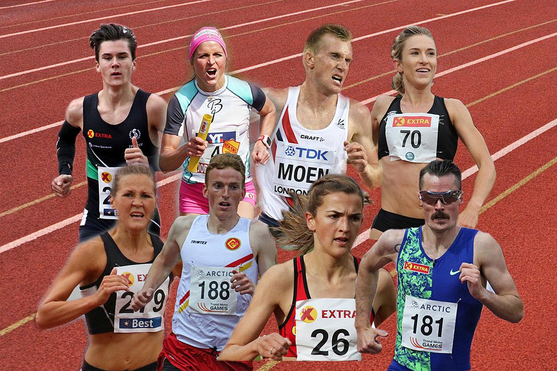 Her er noen av de løperne som Kondis har holdt som favoritter. Les om det stemmer!
