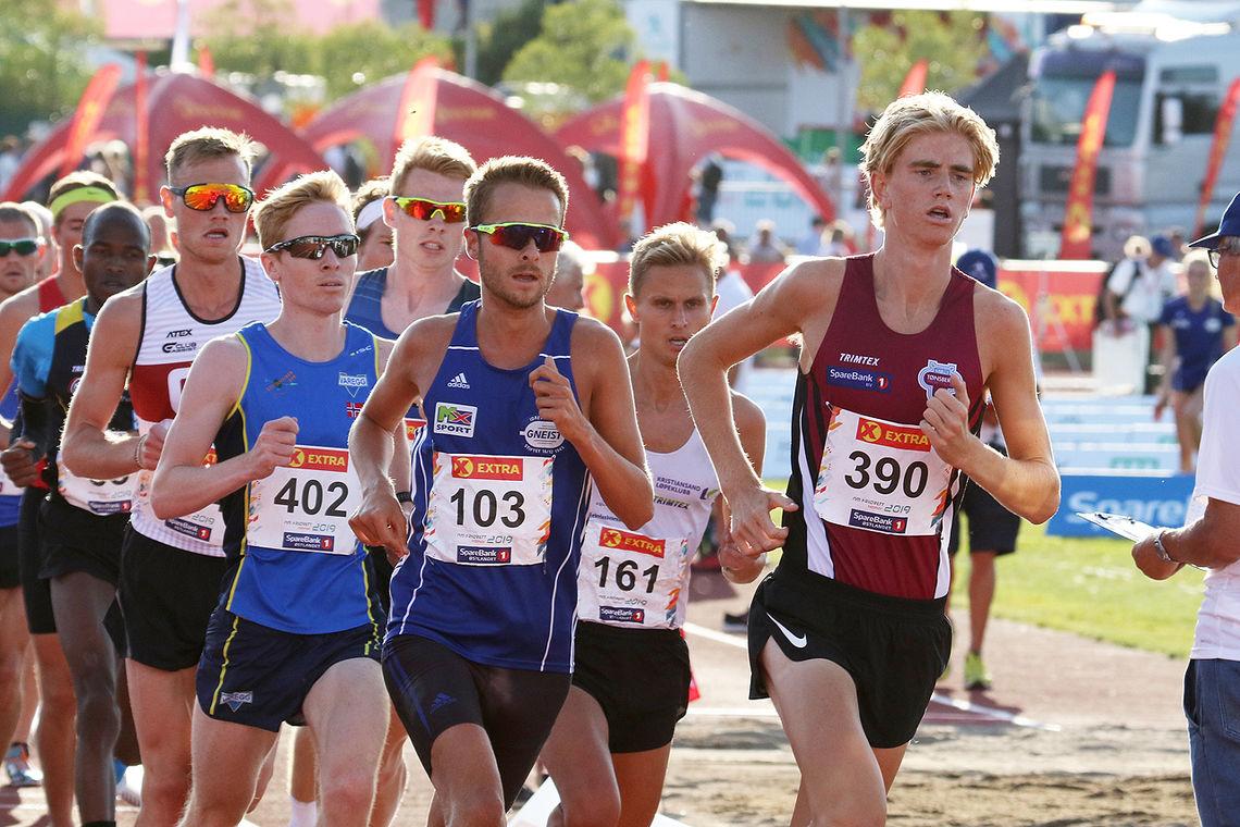 Jonatan Andersen Vedvik var den raskeste i den andre heatet i NM