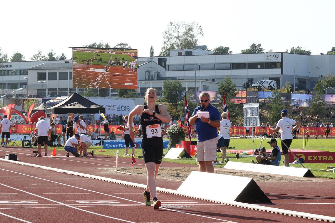 Merete Helgheim inn til seier for 8. gang på rad