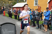 Johannes Knappskog først over mål
