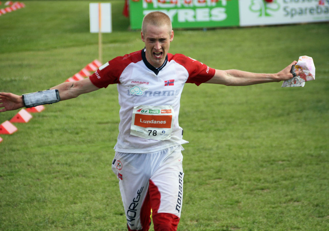 Olav Lundanes er klar til å forsvare gullene fra VM i Norge i 2019.