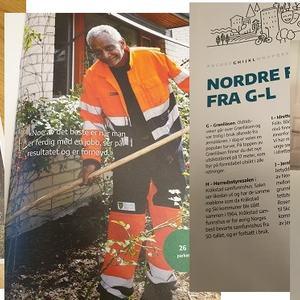 magasinet Nordre Follo fra a til å
