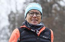 Ingrid Kristiansen er blitt 63 år, men gleden ved å være i bevegelse er fremdeles rikelig til stede. (Foto: Bjørn Johannessen)