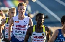 Narve Gilje Nordås hadde full klaff med formen i U23-EM da han løp inn til 6. plass og solid pers på 10 000 m. (Foto: Eirik Førde)