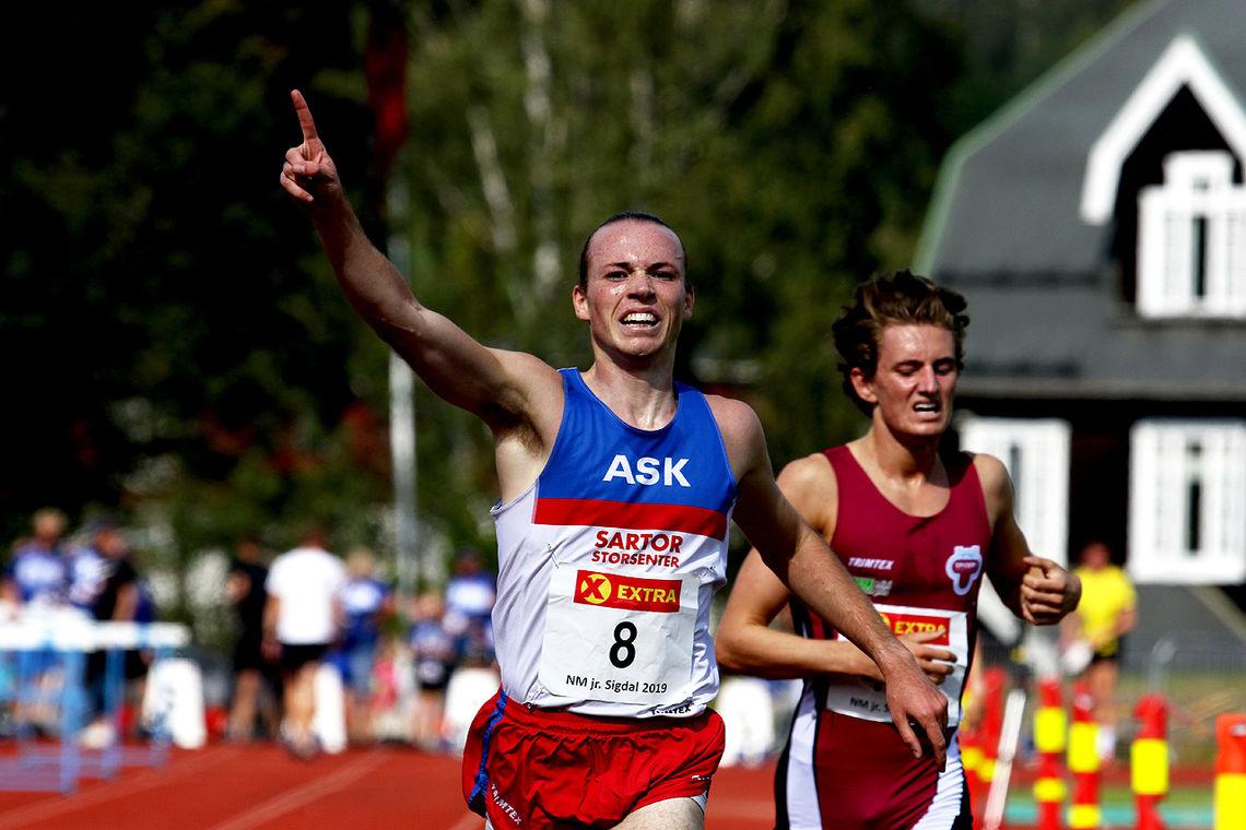 Marius Sørli kan markere seier på 5000 meter