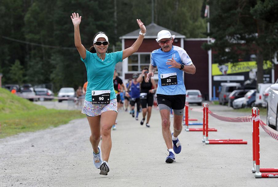 Jeanette Solvang og Lars Christen Dørum