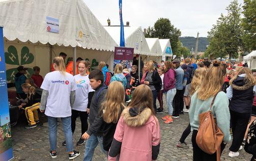 Bilde fra festivalutstillingen i Kongens gate