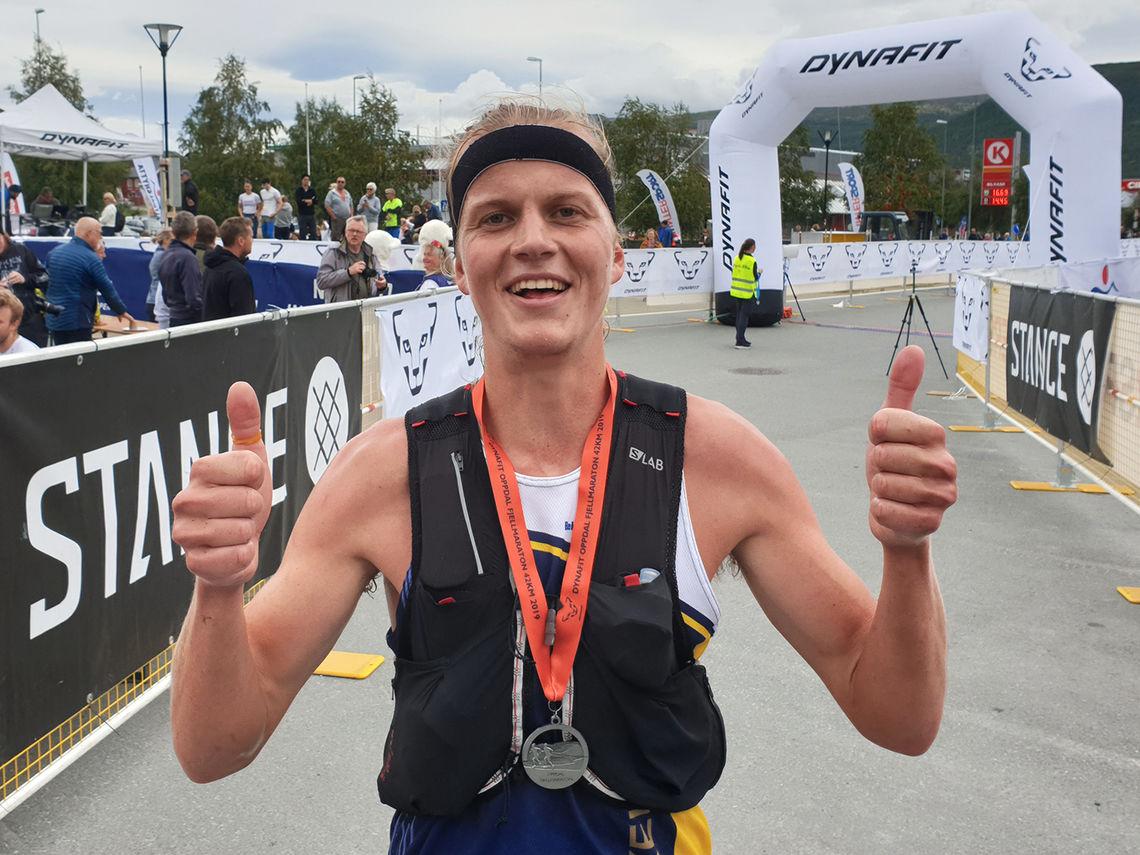 Simen Wästlund vant 42 km og satte løyperekord.