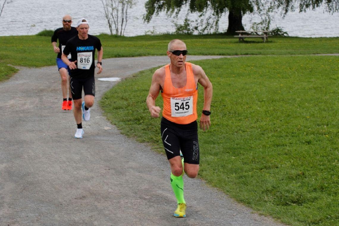 Henning Aasen i aksjon i Hamarløpet tidligere denne sesongen.