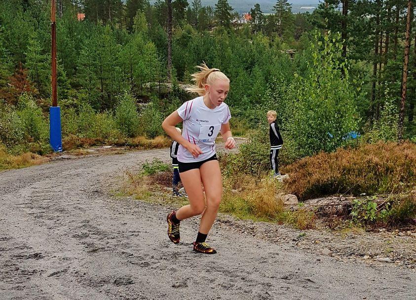 Astrid Horgen i siste motbakke