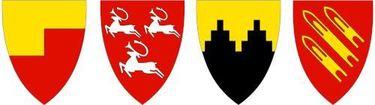 Kommunevåpen fra Porsanger, Nordkapp, Gamvik og Lebesby
