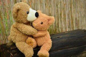 Lekebamse, teddy