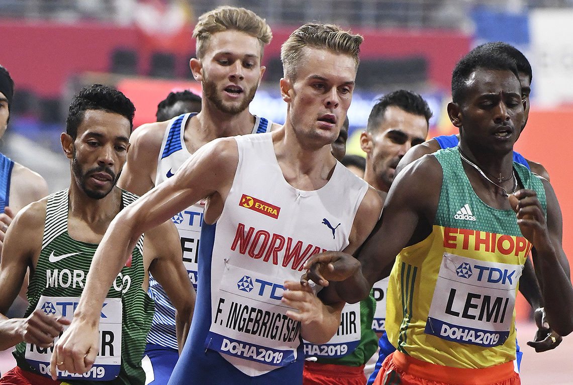 Filip Ingebrigtsen har et stort register og konkurrerer på det meste fra 800 m til 10 km. (Arkivfoto: Bjørn Johannessen)