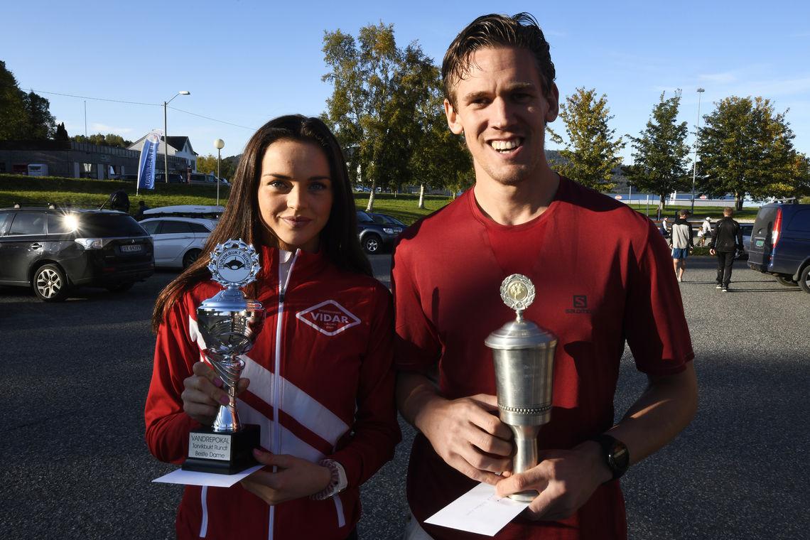 Live Solheimdal og Sebastian Conrad Håkonsson vant årets Torvikbukt Rundt