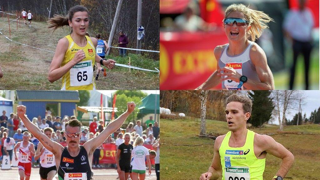 Fjorårets NM-vinnere og årets favoritter. Blir det mellom disse gull og sølvkampen står i NM terreng i Frognerparken søndag? Eller kommer det noen overraskelser?