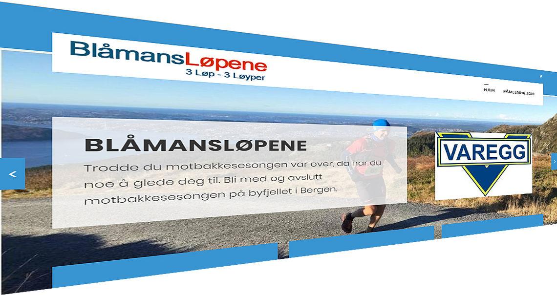 Varegg inviterer til motbakkeløp utover høsten: Blåmansløpene.