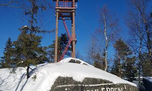 Linnekleppen i vinterdrakt Foto May-Lene Rødland Jenssen