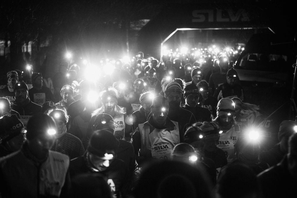 Alle må ha hodelykt i Silva Nightrun, det blir løp i både Oslo og Bergen