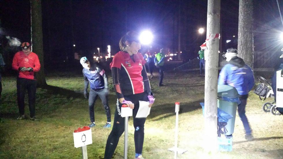 Kristin Johansson klar til start