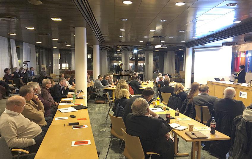 Folkevalgtmøte 31. oktober 2019. Foto: Ingvild Belck-Olsen
